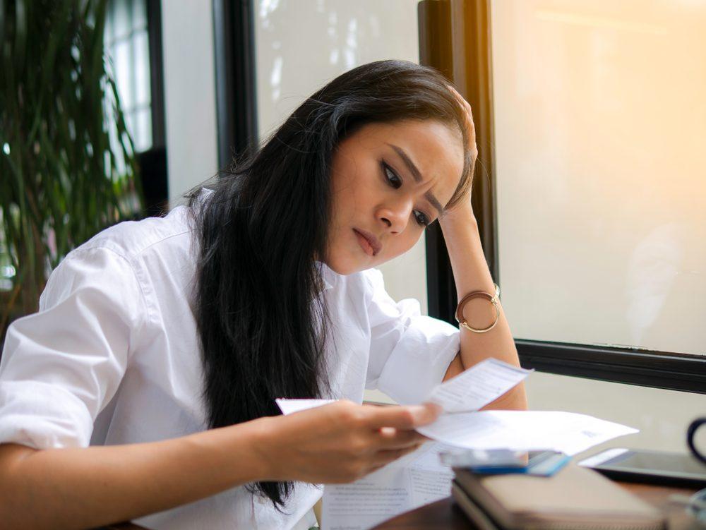 Có khả năng thông tin tín dụng của bạn đã bị đánh cắp và sử dụng cho những khoản vay nóng.