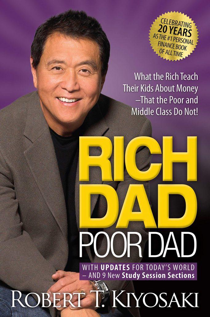 Cha giàu Cha nghèo của Tác giả Robert Kiyosaki