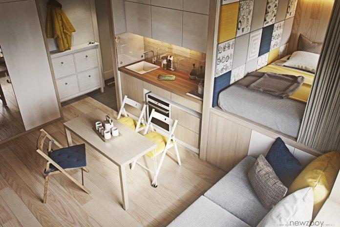 trang trí căn hộ chung cư ấm cúng với chi phí đầu tư thấp