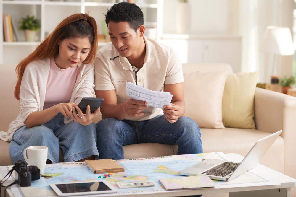 Phân chia các khoản chi trước khi về chung nhà