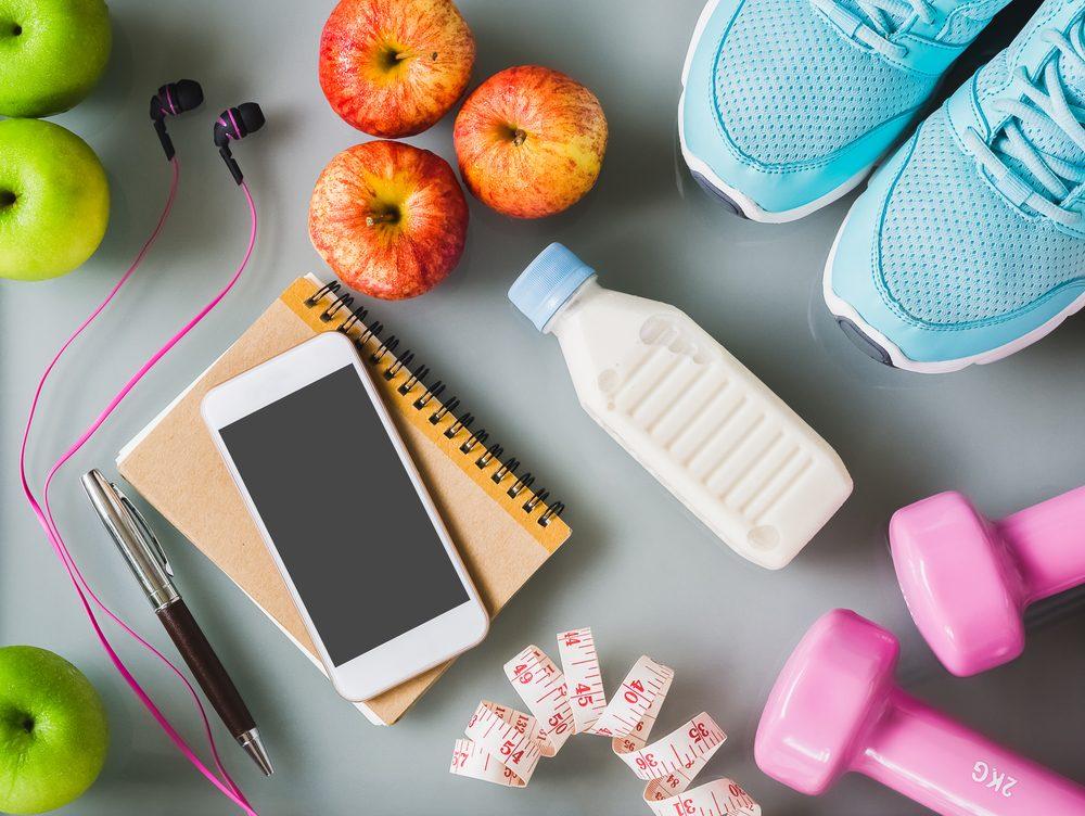 Sữa bổ sung năng lượng khi bạn tập workout.