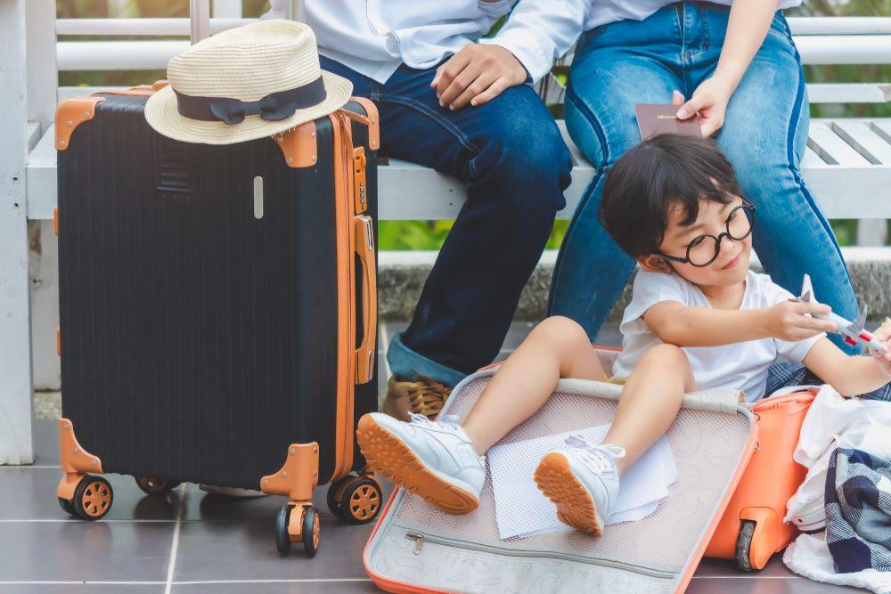kinh nghiệm khi đi du lịch cùng con nhỏ